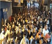 «لبنان» مسيرة باتجاه السفارة الفرنسية ببيروت احتجاجا على الرسوم المسيئة للنبي