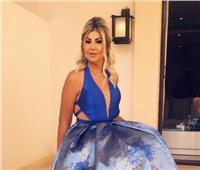 صور| بوسي شلبي تستعرض فستانها قبل حفل ختام مهرجان الجونة
