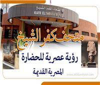 إنفوجراف  «متحف كفر الشيخ».. رؤية عصرية للحضارة المصرية القديمة