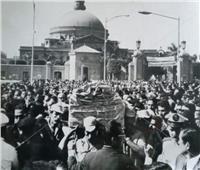 صور | نكشف سر دفن «طه حسين» بعد ثلاثة أيام من موته