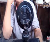 فيديو   «من فات قديمه تاه».. حكاية أشهر محل صيانة تليفون أرضي بالعتبة