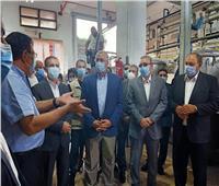 خلال جولته بالغربية.. وزير الزراعة: نسعى لتطوير 200 مركز لتجميع الألبان