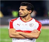 """""""آسر """"نجل طارق حامد يفاجئ فريق  الزمالك اثناء المران"""