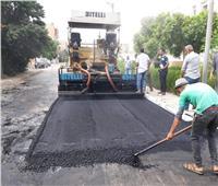 «الطرق والنقل» ترصف شوارع «الإسماعيلية»