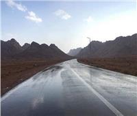 تعرف على الطرق المغلقة بالبحر الأحمر بسبب الأمطار والسيول