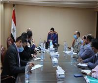 وزير الرياضة يجتمع باللجنة المنظمة لمونديال اليد مصر 2021