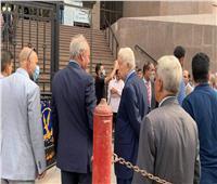 وصول مرتضي منصور لمجلس الدولة