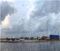 هطول أمطار على مناطق بئرالعبد والعريش