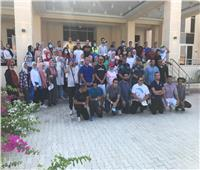 اختتام فعاليات معسكر «زهرة المخيمات» بمدينة مرسى علم