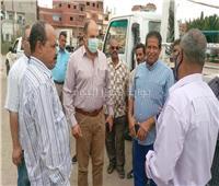 صور | إزالة 60 طن تجمعات قمامة بقرية «الفردان» بالإسماعيلية
