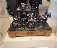 فيديوجراف | أقدمها يرجع لعام 1863.. عربات ملكية في متحف المركبات ببولاق