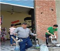 رفع 425 طن قمامة في محافظة الجيزة