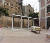 صور | «الفصل الطائر».. طريقة للتغلب على كثافة الفصول في القاهرة
