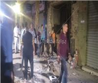 فيديو وصور | تفاصيل انفجار ماسورة غاز بمنطقة حدائق المعادي