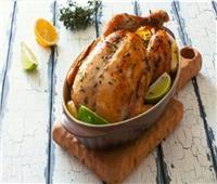 طبق اليوم .. «دجاج مشوي بالليمون والنعناع»