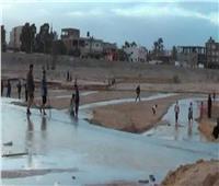 سيول الخير بجنوب سيناء تملأ خزانات المياه الجوفية.. وفتح كافة الطرق