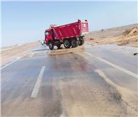 إعادة فتح طريق القصير - قفط بعد الإنتهاء من أعمال الإصلاح
