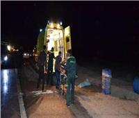 مصرع عامل صدمته سيارة أثناء عبوره طريق «دمنهور دسوق»
