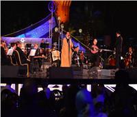 صور| كايرو ستيبس أول فرقة ألمانية تعزف موسيقاها في مهرجان الموسيقى العربية