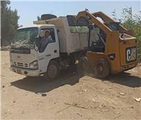 رفع 230 طن قمامة ومخلفات من شوارع بني سويف