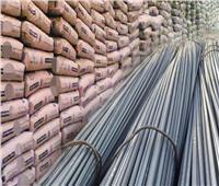ضبط 75 طن مواد بناء مجهولة المصدر في الإسكندرية