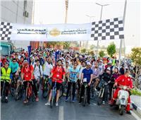 بنك مصر ينظم ماراثون للدراجات على هامش فعاليات اليوم العالمي للادخار