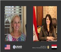 «المشاط» تبحث إستراتيجية التعاون الاقتصادي بين مصر وأمريكا
