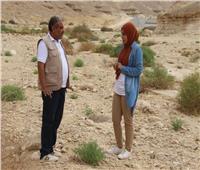 انفراد | أول فيديو لسدي وادي دجلة لحجز مياه الأمطار