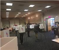 «بوابة أخبار اليوم» داخل لجان الاقتراع بأمريكا | فيديو