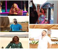 بمشاركة نجوم الجونة.. شاهد كليب «دقي يا مزيكا» لرامي عياش | فيديو