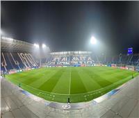 شاهد| ملعب «جيويس» جاهز لاستقبال موقعة أتالانتا وليفربول