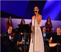 كارمن سليمان تفتتح حفل «الموسيقى العربية» بأغنية «كلام»