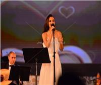 صور| إطلالة ساحرة لـ«كارمن سليمان» بمهرجان الموسيقى العربية