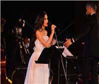 صور | كارمن سليمان لجمهور «الموسيقى العربية»: «أنا خايفة»