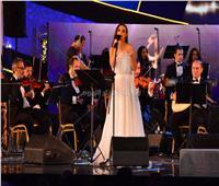 صور| كارمن سليمان تُبهر جمهور «الموسيقى العربية» بأغاني الزمن الجميل