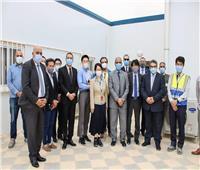 مدير هيئة «جايكا» اليابانية يزور مطار برج العرب
