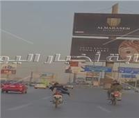 فيديو| «موتوسيكل الموت» قنبلة متحركة على دائري المعادي
