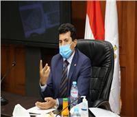 وزير الرياضة يناقش تصور المشروعات المقترح تنفيذها بـ«استاد القاهرة»