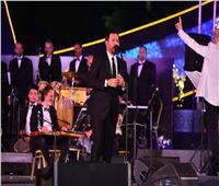 صور | حفل عاصى الحلانى «كامل العدد» بمهرجان الموسيقى العربية