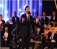 شاهد أول هدايا عاصى الحلانى فى حفل مهرجان الموسيقى العربية