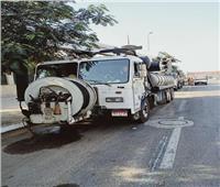 لمواجهة الأمطار.. الدفع بسيارات «شفط المياه» بالقاهرة