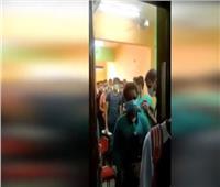 محافظة الجيزة تغلق «سنتر تعليمي» في بشتيل  فيديو
