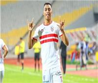 مصطفى محمد رجل مباراة الزمالك والرجاء | فيديو