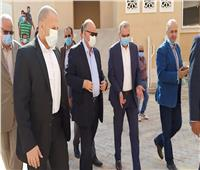محافظ القاهرة يتفقد أعمال إنشاء مدينة «معا» بالسلام ثان