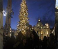 أول ديسمبر.. الفاتيكان تدشن وتضئ شجرة الميلاد