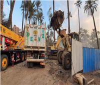رفع 500 طن مخلفات صلبة في مدينة أبو النمرس