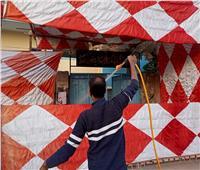 انتخابات النواب بالقليوبية| تعقيم المقرات الانتخابية بالخانكة لمواجهة كورونا