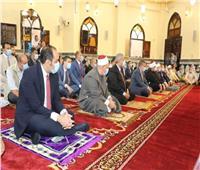 صور| محافظ المنوفية ووزير الأوقاف ومفتي الجمهورية يفتتحون مسجد «الرحمة والمغفرة»