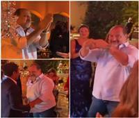 شاهد | كوميديا وغرائب خالد الصاويفي حفل زفاف درة
