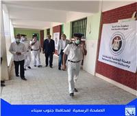 «سكرتير جنوب سيناء» يتفقد اللجان الانتخابية بطور سيناء